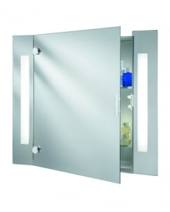Searchlight 6560 Modern Mirrored Bathroom Mirror