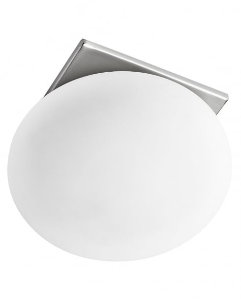 Searchlight 8060R-1SS Modern Steel Recessed Ceiling Light