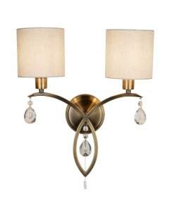 Searchlight Alberto Decorative Wall Light 1602-2AB