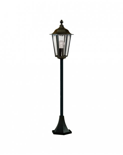 Searchlight Alex Single Light Traditional Outdoor Light Post 82504BK