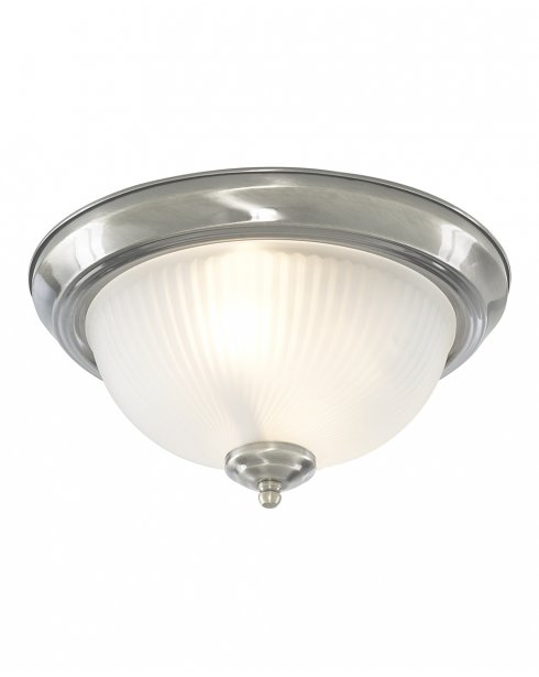Searchlight American Diner 2 Light Traditional Bathroom Ceiling Fitting 4042