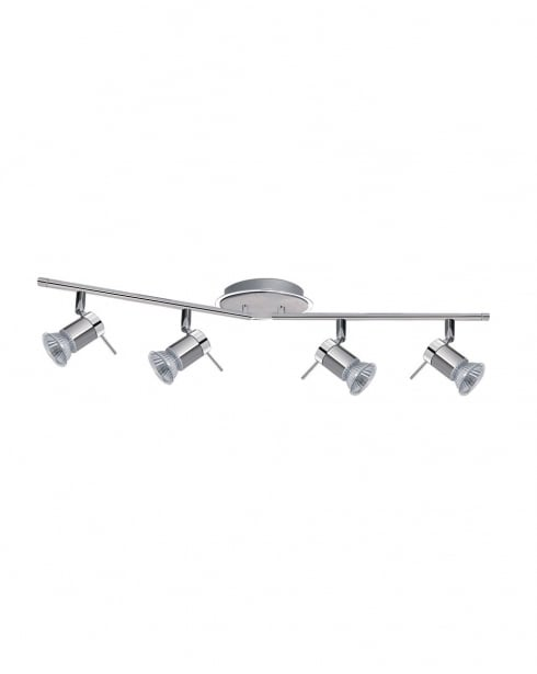 Searchlight Ares 4 Light Modern Bathroom Ceiling Fitting 7444CC-LED