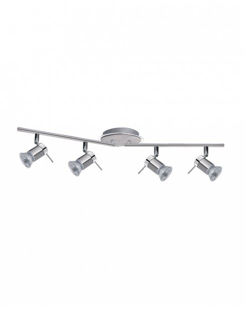 Searchlight Aries 4 Light Modern Bathroom Ceiling Fitting 7444CC