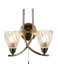 Searchlight Ascona II Decorative Wall Light 5272-2AB