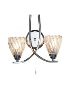 Searchlight Ascona II Decorative Wall Light 5272-2CC