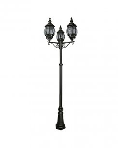 Searchlight Bel Aire 3 Light Traditional Outdoor Light Post 7173-3