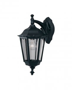 Searchlight Bel Aire Single Light Traditional Porch Light 82531BK