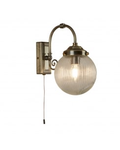 Searchlight Belvue Bathroom Wall Light 3259AB