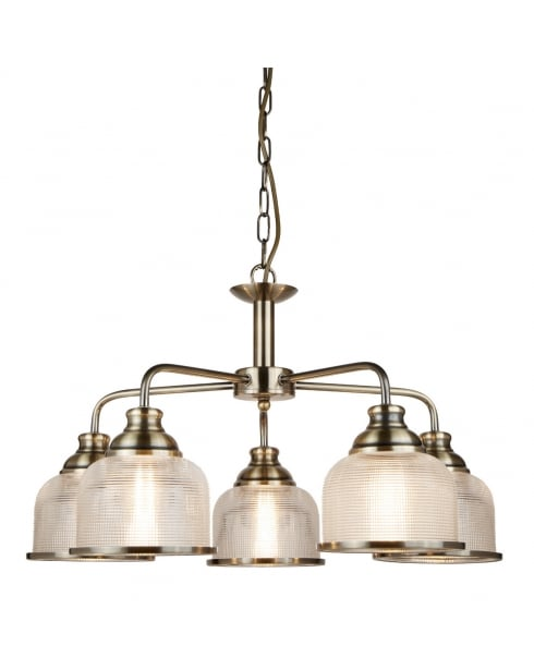 Searchlight Bistro II Multi-Arm Pendant 1685-5AB