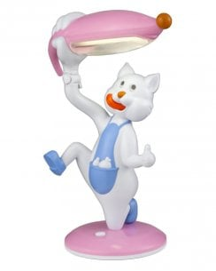 Searchlight Cat Novelty Table Lamp 832PI