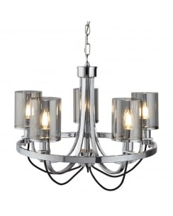 Searchlight Catalina Multi-Arm Pendant 9045-5CC