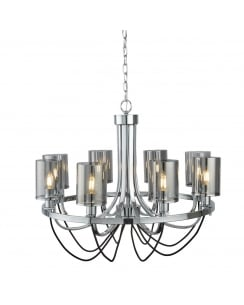 Searchlight Catalina Multi-Arm Pendant 9048-8CC