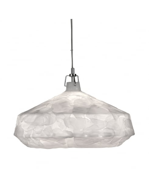 Searchlight Clouds Pendant Light 3395WH