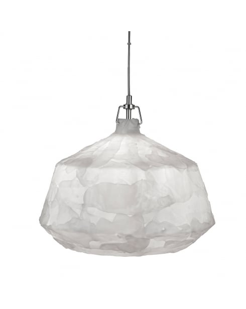 Searchlight Clouds Pendant Light 3396WH