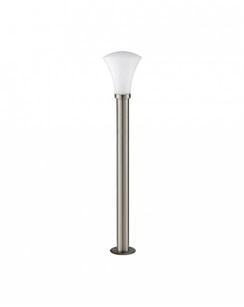 Searchlight Cone Brushed Steel Outdoor Bollard Light 064-900