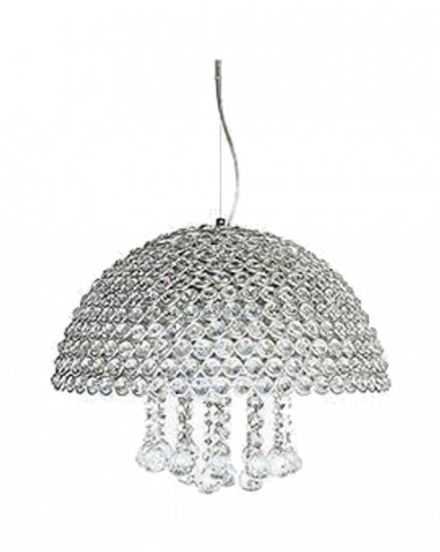Searchlight Crystallo Pendant Light 9414-4CC