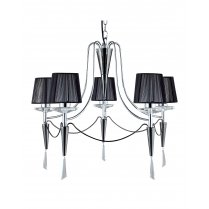 Searchlight Duchess 5 Light Modern Chandelier 2085-5CC