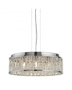 Searchlight Elise Pendant Light 8337-7CC