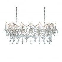 Searchlight Florence Chandelier 80614-14CC
