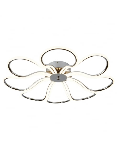 Searchlight Foliage Flush Ceiling Fitting 9278-8CC