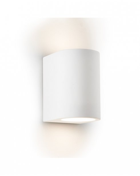 Searchlight Gypsum Single Light Modern Decorative Wall Light 8436