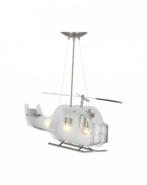 Searchlight Helicopter Novelty Ceiling Light 639