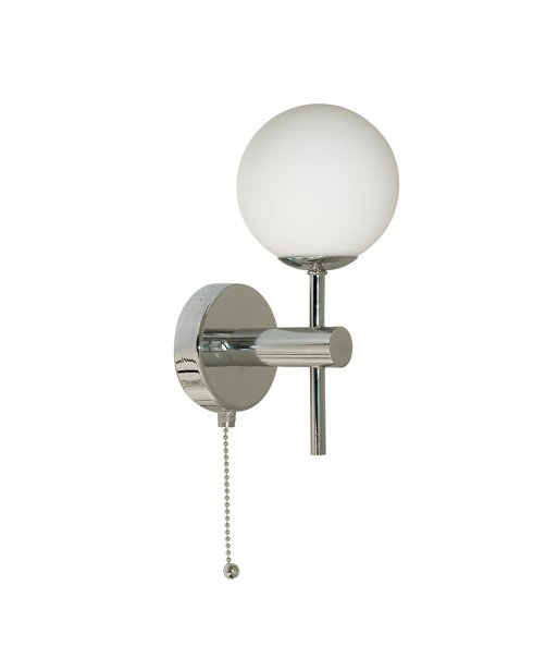 Searchlight Hollywood Single Light Modern Bathroom Wall Fitting 4337-1-LED