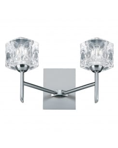 Searchlight Ice Cube Decorative Wall Light 4342-2-LED