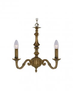 Searchlight Malaga 3 Light Traditional Chandelier 1073-3NG