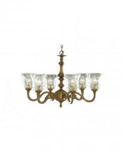 Searchlight Malaga 6 Light Traditional Chandelier 1076-6NG