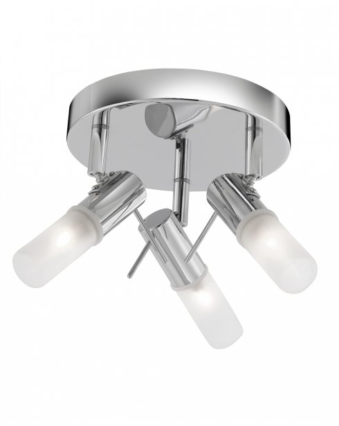 Searchlight Mars 3 Light Modern Bathroom Ceiling Fitting 7213CC