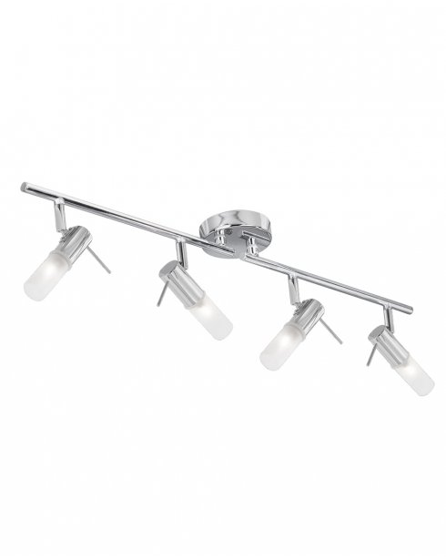 Searchlight Mars 4 Light Modern Bathroom Ceiling Fitting 7214CC-LED