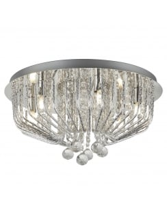 Searchlight Mela Flush Ceiling Fitting 7786-6CC