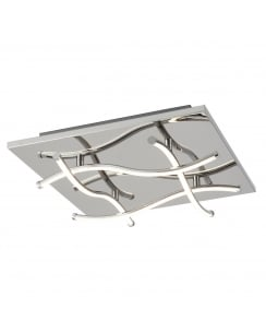 Searchlight Modern Flush Ceiling Fitting 7774-4CC