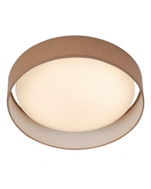 Searchlight Modern Flush Ceiling Fitting 9371-37BR
