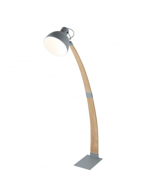 Searchlight Nanna Floor Standing Reading Lamp 1040GY