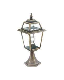 Searchlight New Orleans Single Light Traditional Outdoor Light Post 1524