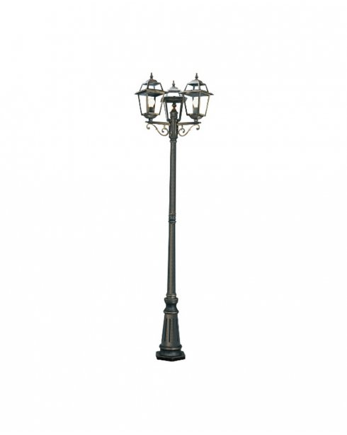 Searchlight New Orleans Single Light Traditional Outdoor Light Post 1528-3