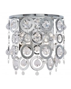 Searchlight Nova Decorative Wall Light 0572-2CC
