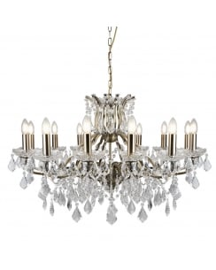Searchlight Paris Chandelier 87312-12AB