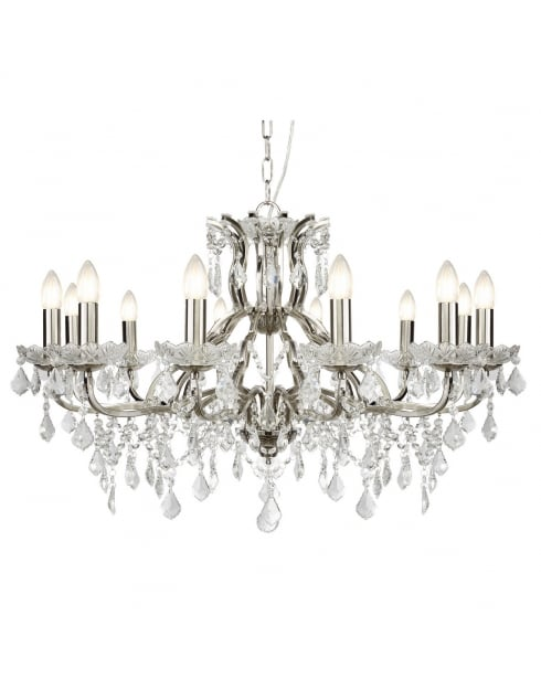 Searchlight Paris Chandelier 87312-12SS