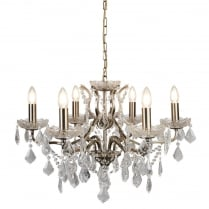 Searchlight Paris Chandelier 8736-6AB