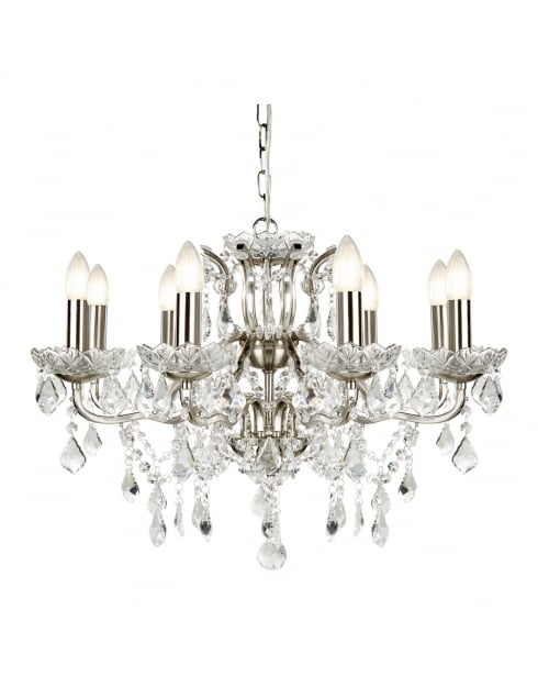 Searchlight Paris Chandelier 8738-8SS
