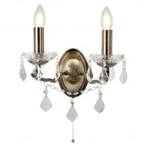 Searchlight Paris Decorative Wall Light 8732-2AB