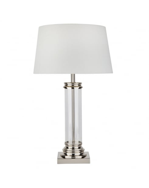 Searchlight Pedestal Incidental Table Lamp 5141SS