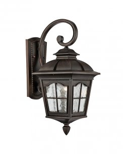 Searchlight Pompeii Single Light Traditional Porch Light 1573BR