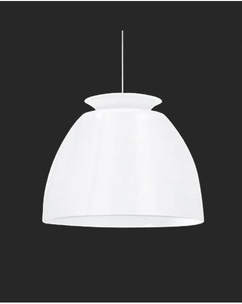 Searchlight Retro Pendant Light 9870WH