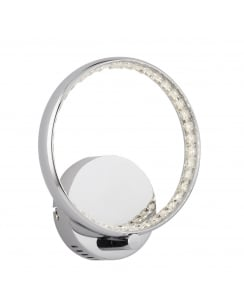 Searchlight Rings Decorative Wall Light 3111CC