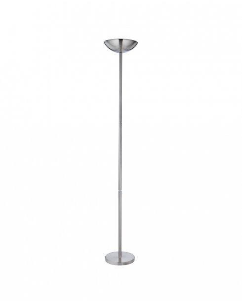 Searchlight 1230ss single light modern floor standing for Floor uplighters