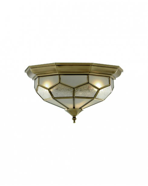 Searchlight 1243-12 2 Light Traditional Flush Ceiling Fitting